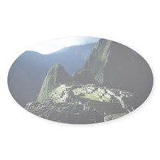 MACHU PICCHU Oval Decal