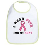I Wear Pink Bib