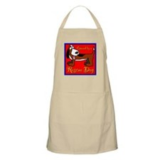 Owned by a RESCUE DOG BBQ Apron