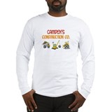 Camden's Construction Tractor Long Sleeve T-Shirt