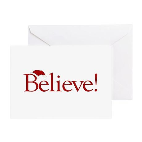 Believe (Santa Claus) Greeting Card