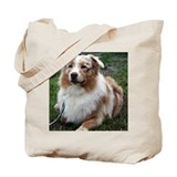 Red Merle Aussie Tote Bag