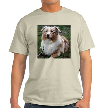 Red Merle Aussie Light T-Shirt