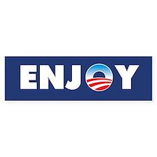 Obama Enjoy Bumper Sticker (10 pk)