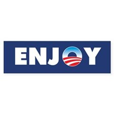 Obama EnjoyBumper Bumper Sticker