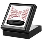 Hockey Dad Keepsake Box