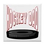 Hockey Dad Tile Coaster