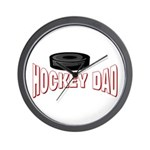 Hockey Dad Wall Clock