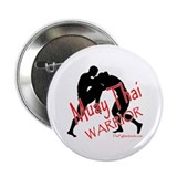 "Muay Thai Warrior 2.25"" Button (10 pack)"