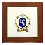 LEGENDRE Family Crest Framed Tile