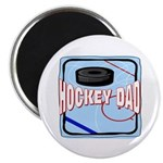 Hockey Dad Magnet