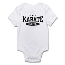 Karate Girl Infant Bodysuit