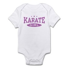 Karate Girl Infant Bodysuit