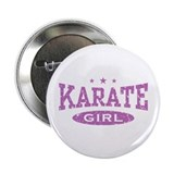 "Karate Girl 2.25"" Button"