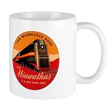 Milwaukee Road Passenger Train Mug