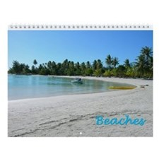 Beaches Wall Calendar