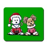 Mr. & Mrs. Santa Paws Mousepad