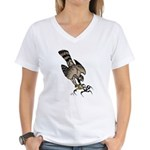 Falcon Talons Out Women's V-Neck T-Shirt