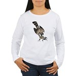 Falcon Talons Out Women's Long Sleeve T-Shirt