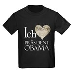 Obama Biden 2008 Kids Dark T-Shirt
