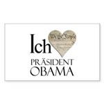 Obama Biden 2008 Rectangle Sticker 10 pk)