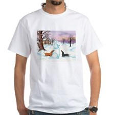 Snow Dachshunds Shirt