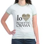 Obama Biden 2008 Jr. Ringer T-Shirt