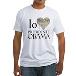 Obama Biden 2008 Fitted T-Shirt