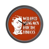 Well-bred... Yankees Wall Clock