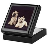 Cairn Terrier Tiled Keepsake Box-gifts