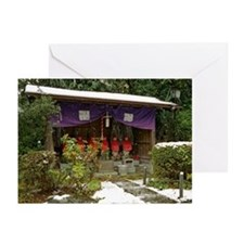 Sheltered Jizo Greeting Cards (Pk of 10)