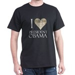 Obama Biden 2008 Dark T-Shirt
