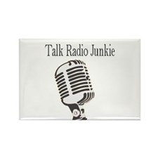 Funny Talk radio Rectangle Magnet