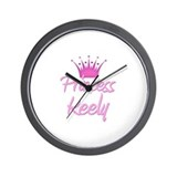 Princess Keely Wall Clock