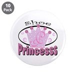 """Shoe Princess 3.5"""" Button (10 pack)"""