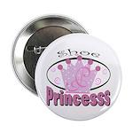 """Shoe Princess 2.25"""" Button (100 pack)"""