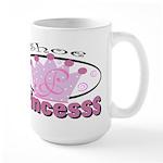 Shoe Princess Large Mug