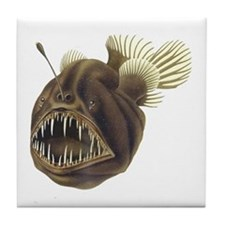 Deep-Sea Angler Tile Coaster