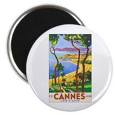 """Cannes France 2.25"""" Magnet (10 pack)"""