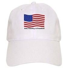 God, Country, & Freedom Cap
