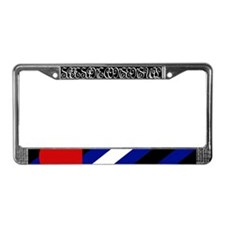 Leather Pride License Frame