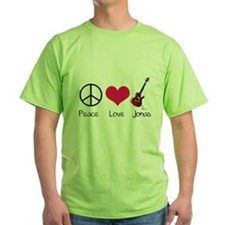 Peace Love Jonas T-Shirt
