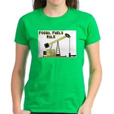 Fossil Fuels Rule Tee
