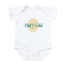 Stay Gold Infant Bodysuit