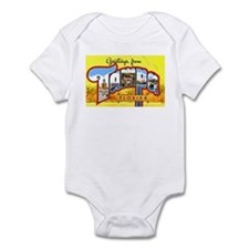 Tampa Florida Greetings Infant Bodysuit