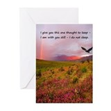 Rainbow card Greeting Cards (10 Pack)