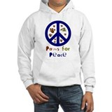 Paws for Peace Navy Jumper Hoody