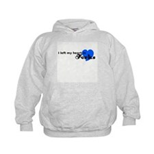 I Left My Heart in Forks (Blu Sudaderas con capucha
