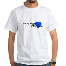 I Left My Heart in Forks (Blu Camisetas