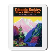 Colorado Rocky Mountains Mousepad